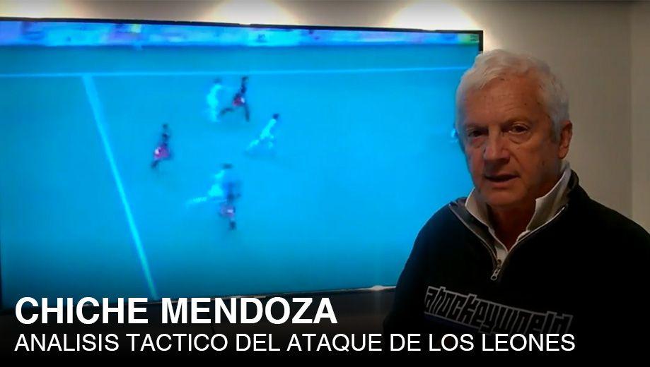 CHICHE MENDOZA: CURSO ANALISIS DE ANALISIS TACTICO-TECNICO DEL ATAQUE DE LOS LEONES