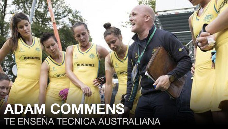 ADAM COMMENS: ENTRENADOR DE AUSTRALIA