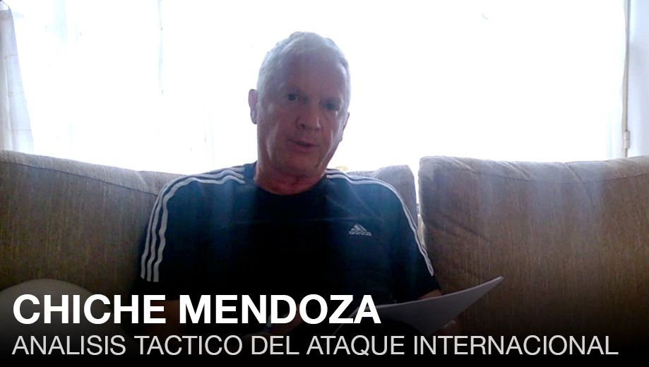 CHICHE MENDOZA: TACTICO – ATAQUE DE 50 YARDAS
