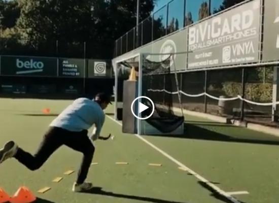 Ejercicio de Hockey Para Entrenar la Definición desde la Línea de Fondo